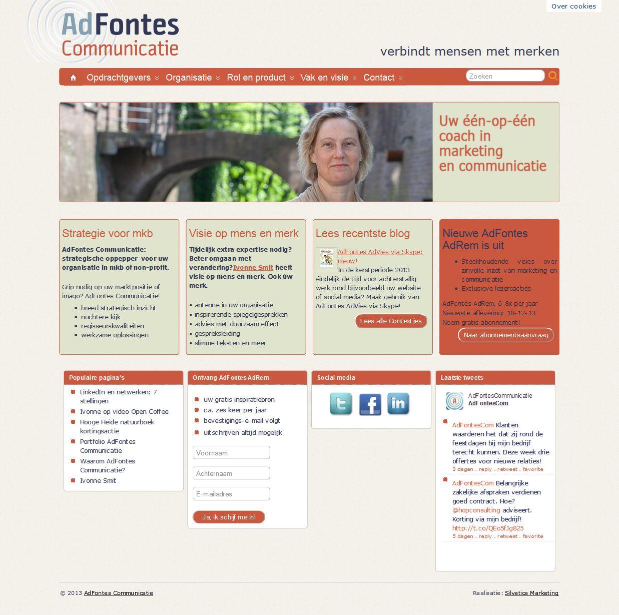 'AdFontes Communicatie verbindt mensen met merken I 's-Hertogenbosch' - adfontescommunicatie_nl