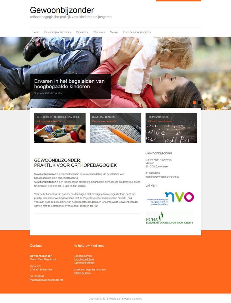Nieuwe Website gewoonbijzonder.net