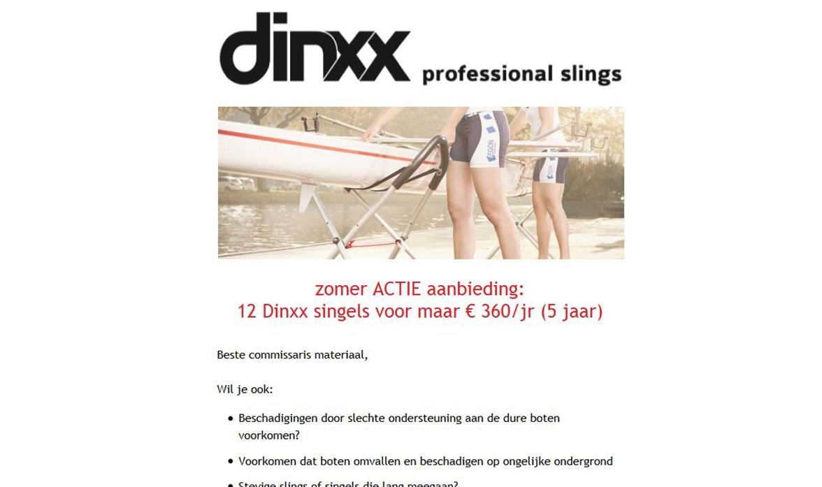 dinxx-nieuwsbrief
