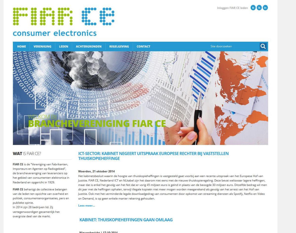 websiteontwerp fiar.nl