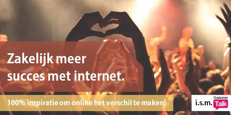 Meer zakelijk succes met Internet