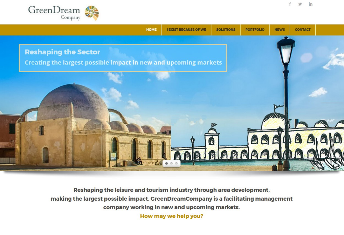 Website Greendreamcompany