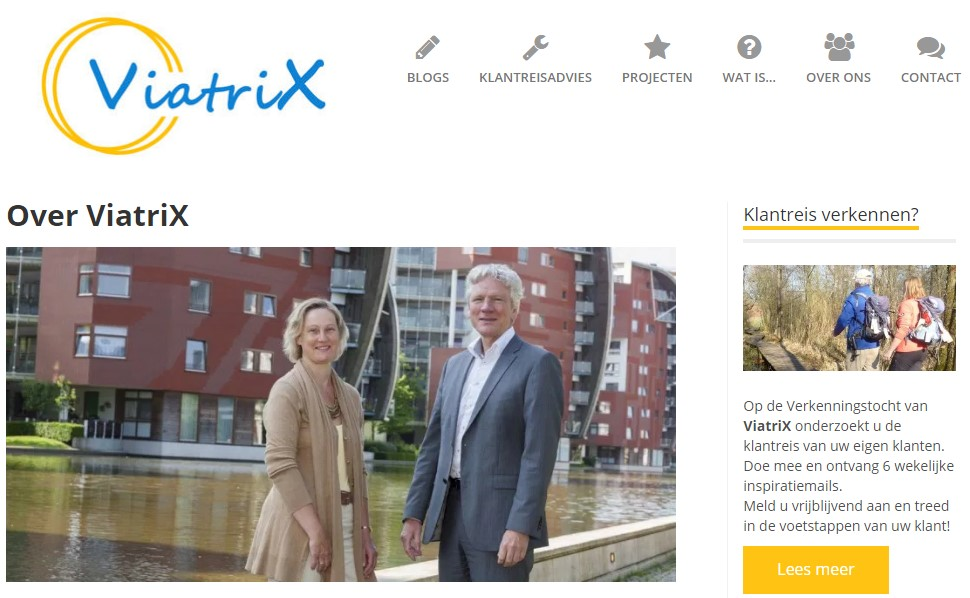 Viatrix voor uw customer Journey