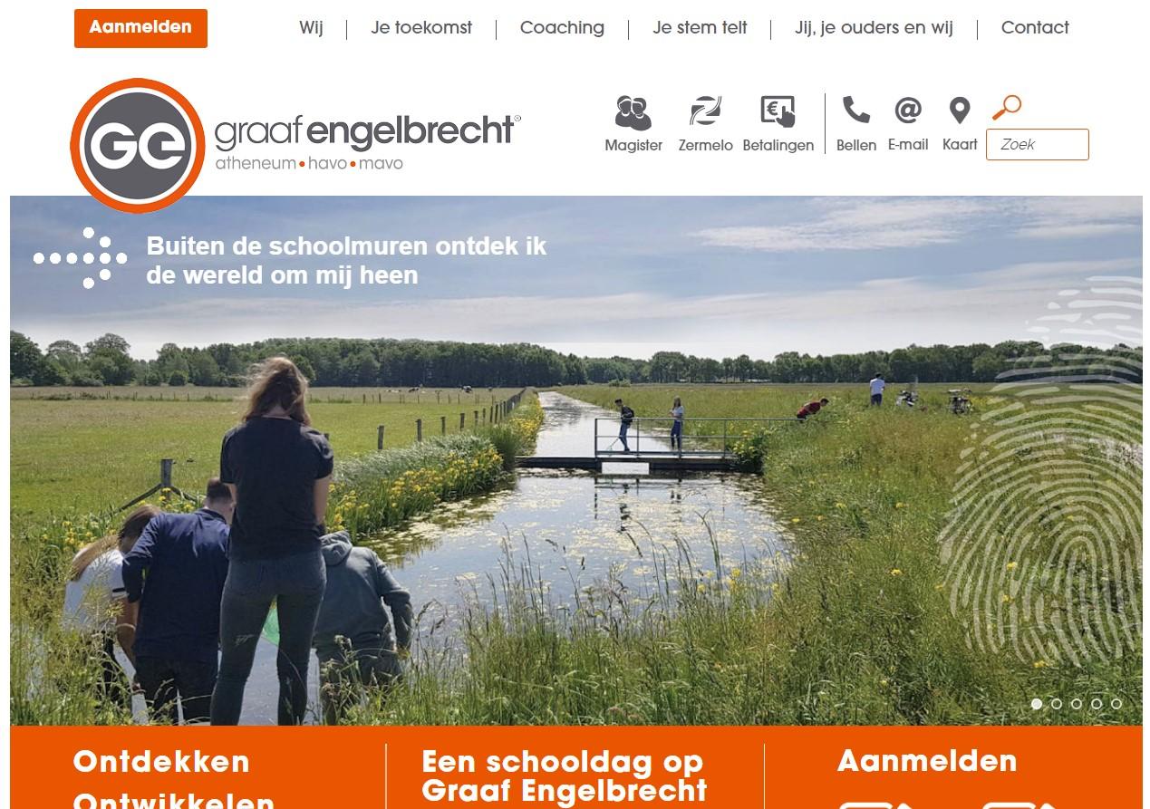 Nieuwe website graaf engelbrecht - breda